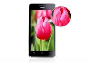 Huawei Honor 2 - přední část
