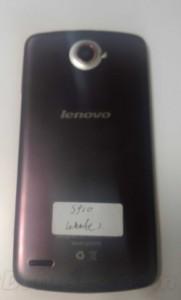 Lenovo S920 - zadní část