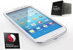 Samsung Galaxy S4 - Snapdragon a Exynos