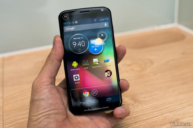 Neznámý prototyp smartphonu od Motoroly na videu