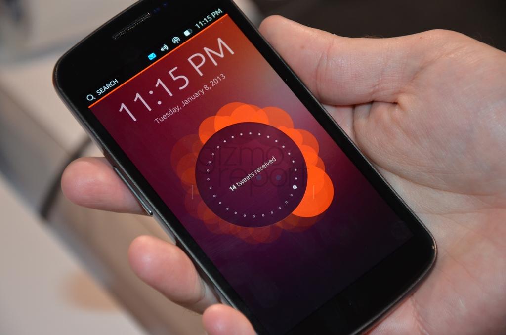 Ubuntu pro smartphony využívá části CyanogenModu