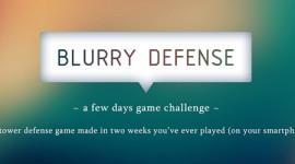Blurry Defense – nová hra od českých Brainwash Studio