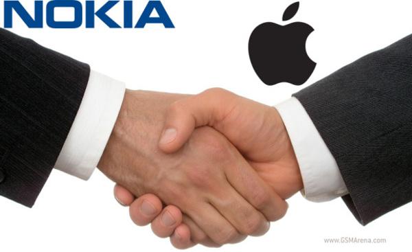 Apple získává podporu Nokie v boji proti Samsungu