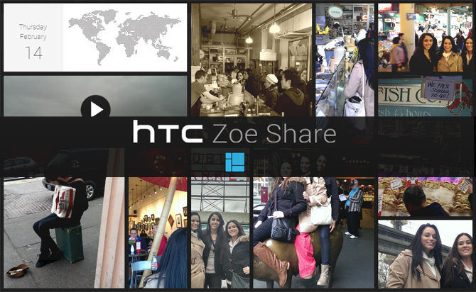 HTC spouští službu Zoe Share