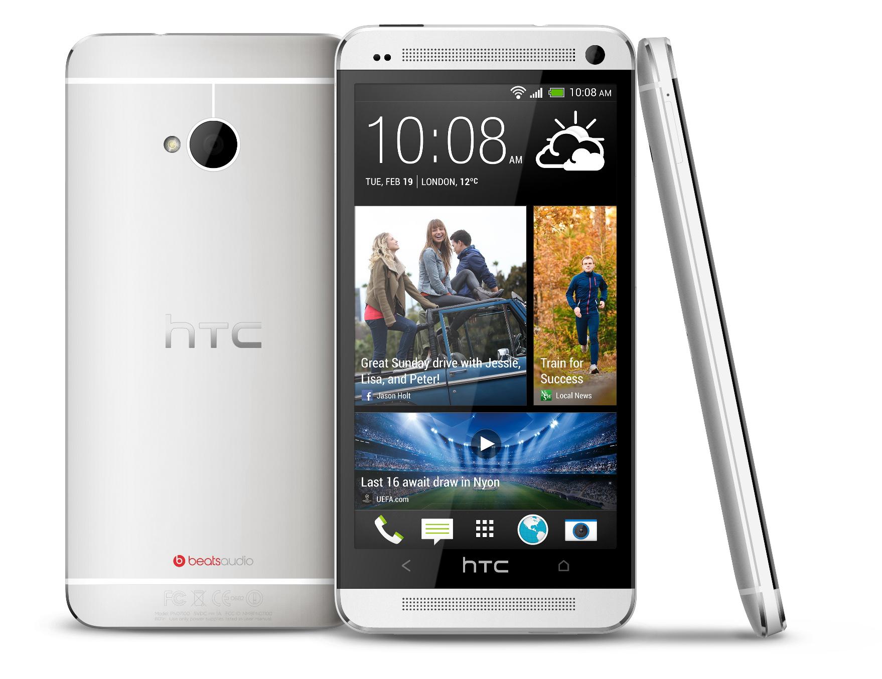 Logo HTC na mobilu One jde proměnit v tlačítko