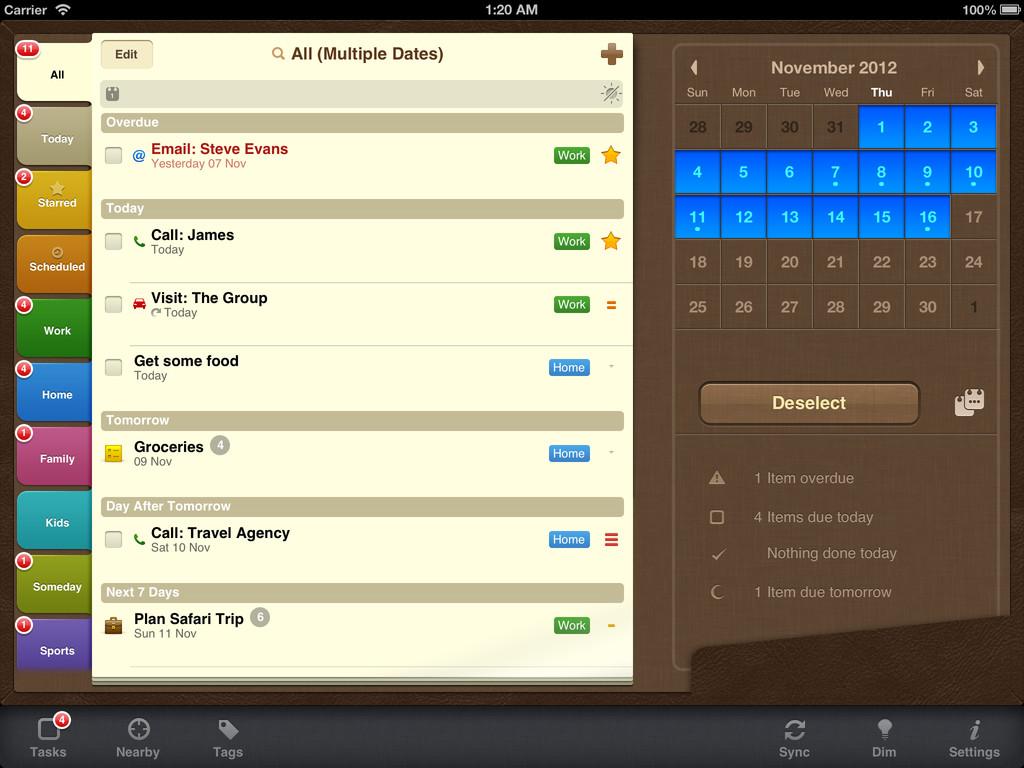 5 aplikací ze storu: ToDo aplikace