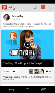 Nová verze aplikace Google Plus pro Android a iOS