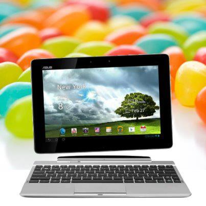 Asus jako první startuje aktualizace na Android 4.2 Jelly Bean