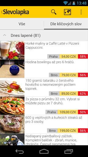 Slevolapka – všechny slevy na jednom místě [Android, iOS, WP]