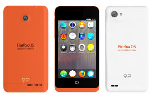 Firefox OS modely