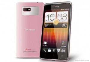 HTC Desire L - růžové provedení