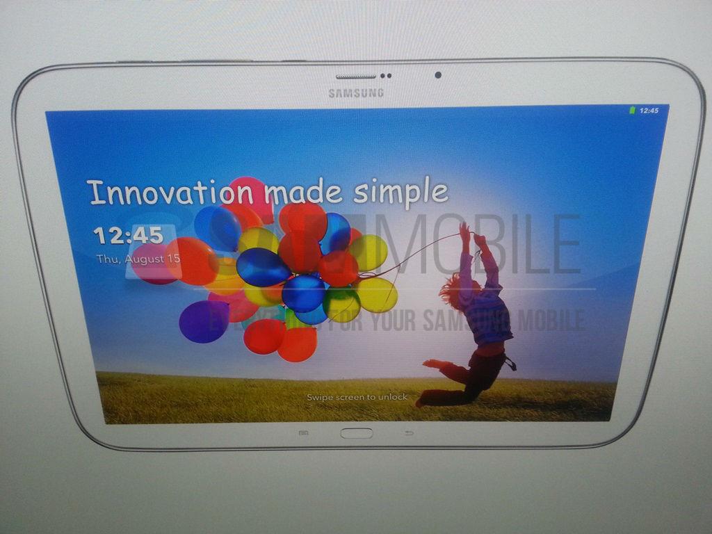 Galaxy Tab 3 Plus s tlačítky pod displejem?