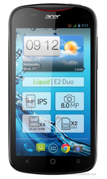 Acer Liquid E2 – 4jádro se dvěma sloty na SIM karty