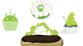 Infografika věnována systému Android