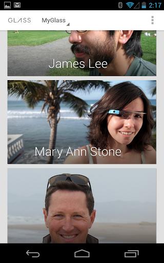 První aplikace pro Google Glass v obchodě Play + speciální web