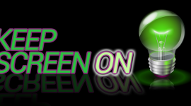 Tip na aplikaci pro Android – Keep Screen ON