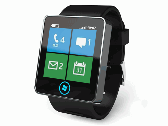 Chytré hodinky od Microsoftu v přípravě