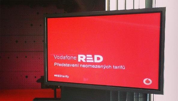 """Vodafone RED – nové neomezené tarify """"bez hranic"""""""