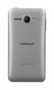 Alcatel One Touch Star 6010D - stříbrná varianta
