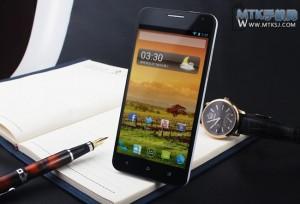 GooPhone X7 - přední část