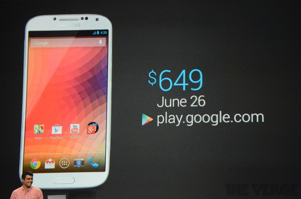 Samsung Galaxy S4 s čistým Androidem