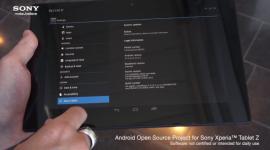 AOSP přímo od Sony pro Xperia Tablet Z