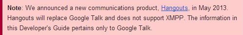 What is Google Talk  - Google Talk for Developers — Google Developers