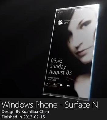 Windows Phone Surface N – koncept mobilu z budoucnosti [video]