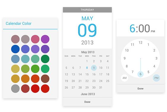 Google aktualizoval aplikaci Kalendář