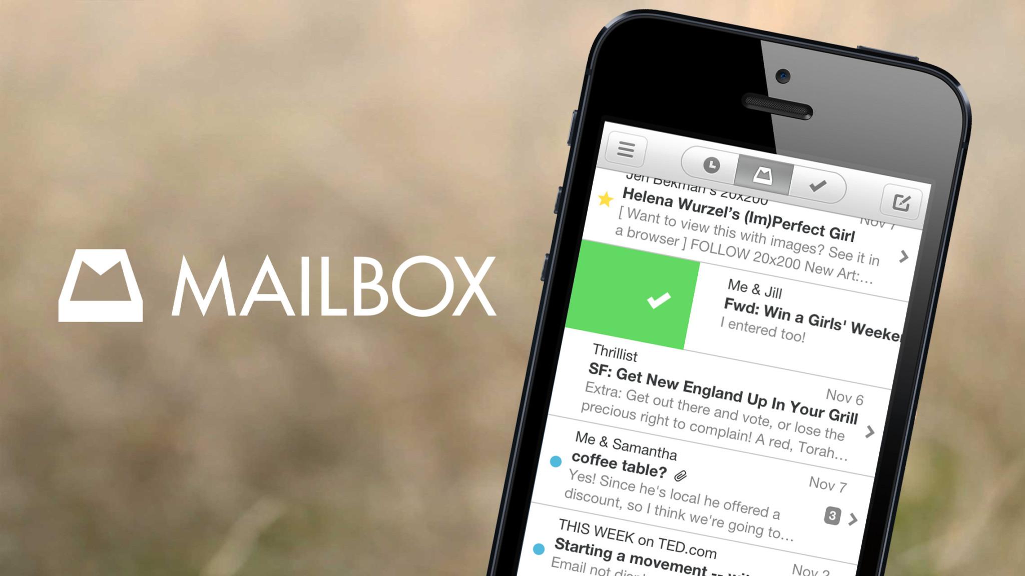 Mailbox od Dropboxu bude i pro Android