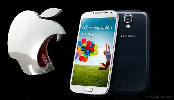 Apple chce zařadit do patentového sporu Galaxy S4