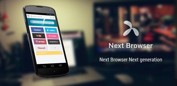 Next Browser – Nový král mezi mobilními prohlížeči?