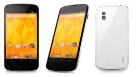 Nexus 4 v bílé variantě oficiálně představen [aktualizováno]