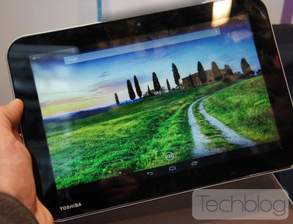 Toshiba pracuje na 10palcovém tabletu s Tegrou 4