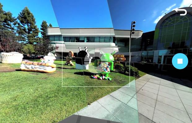 PhotoSphere lze vkládat i na webové stránky