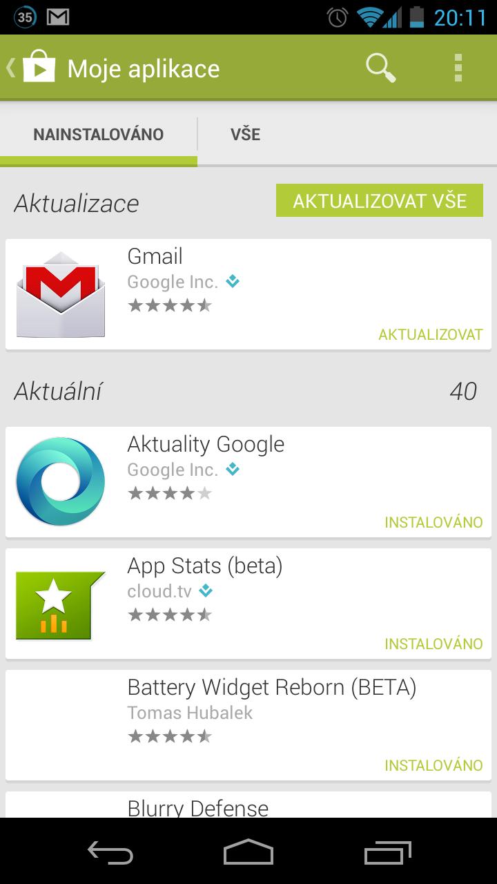 Nová aplikace Gmail pro Android a iOS [Aktualizováno]