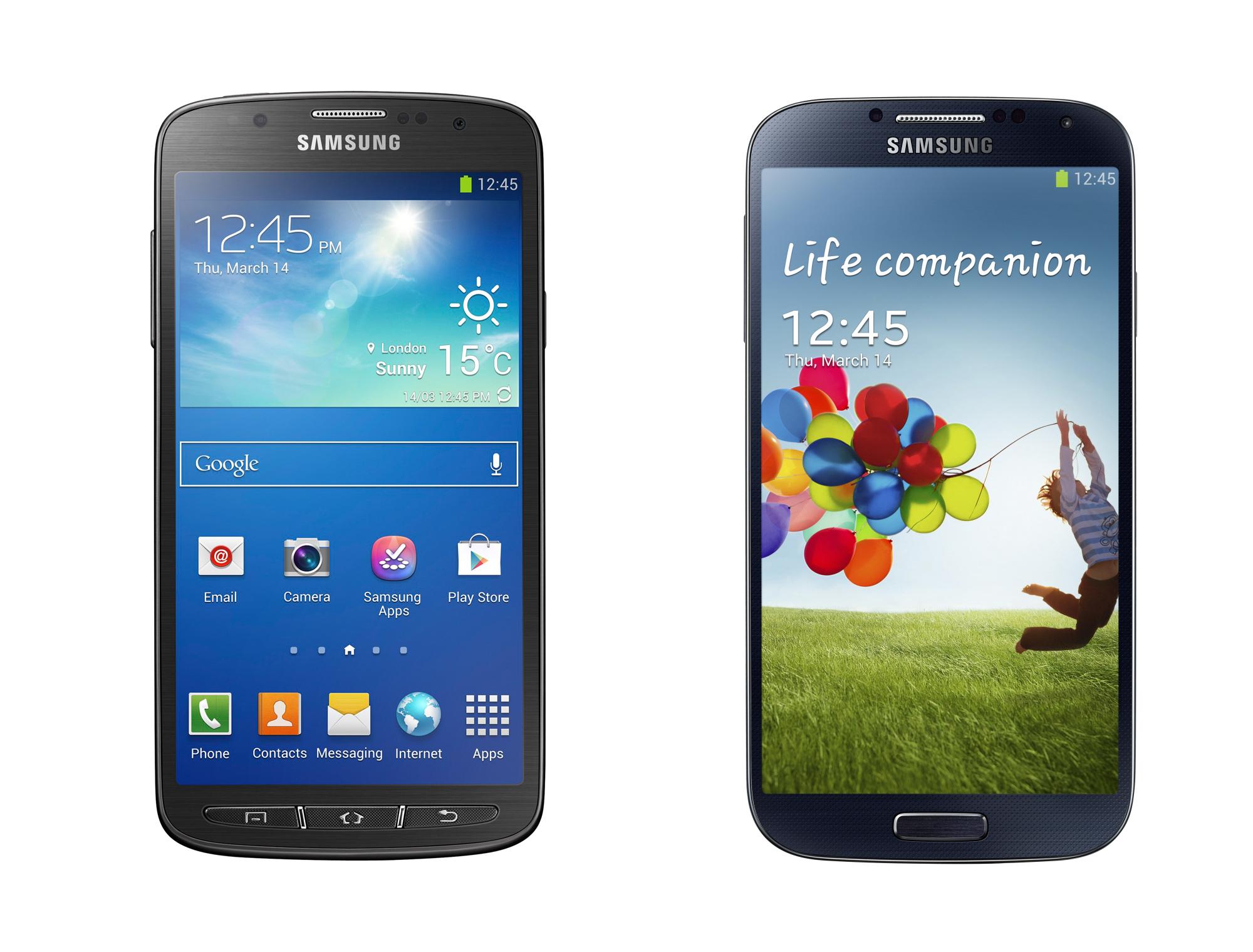 Srovnání – Galaxy S4 a Galaxy S4 Active