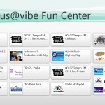 Asus VivoTab ME400C - Asus Vibe Fun Center rádia