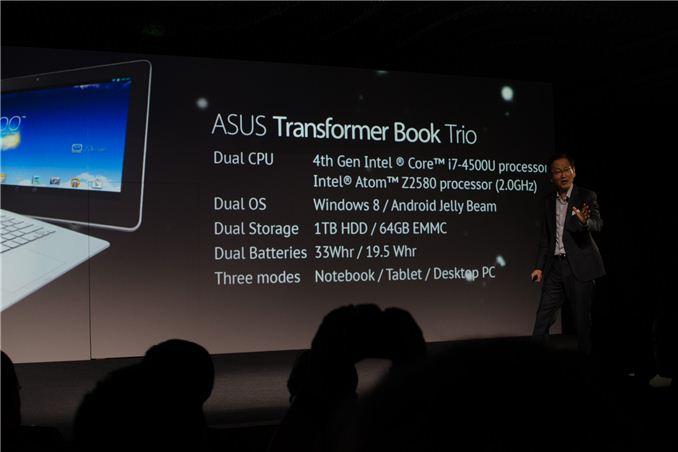 Asus uvedl Transformer Infinity a Book Trio