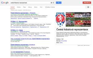 Diagram znalostí_česká fotbalová reprezentace