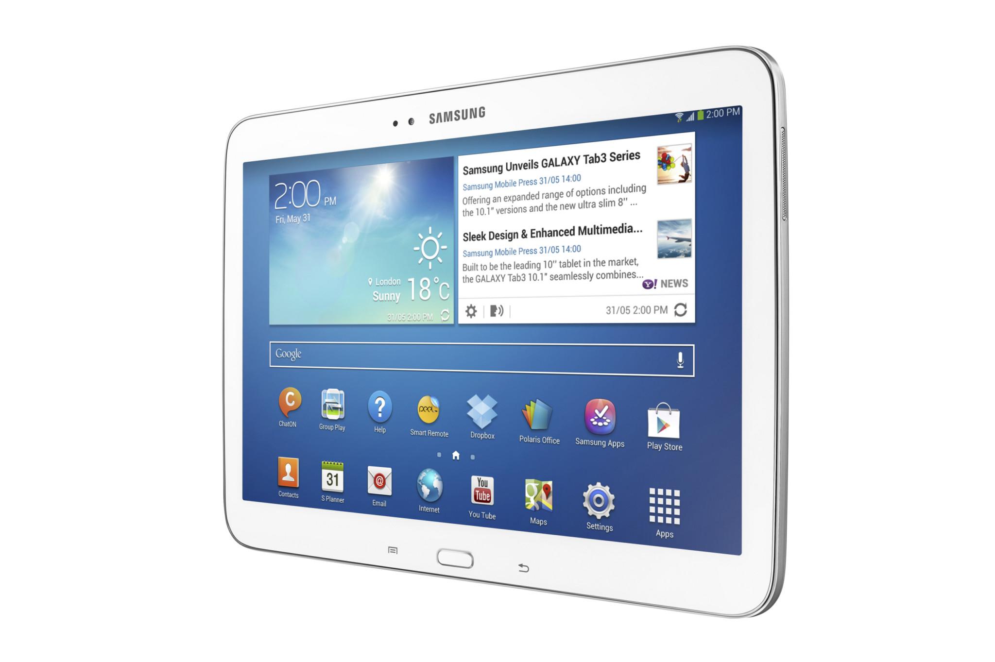 Samsung představil sérii Galaxy Tab 3