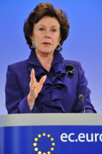 Press conference by Neelie Kroes