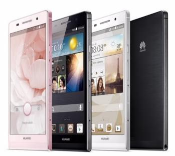 Huawei představil model Ascend P6 [aktualizováno]