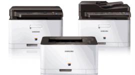 Tiskárny ze série Xpress podporují NFC a nejen to