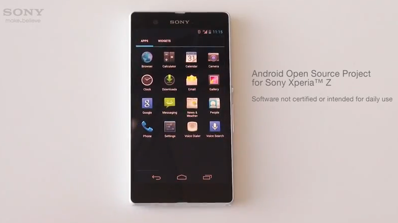 Sony Xperia Z Google Edition v přípravě?