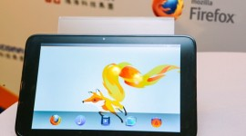 První tablet s Firefox OS na fotografiích