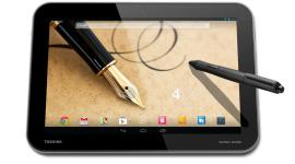 Toshiba představila 3 tablety – dva z nich mají rozlišení 2560 x 1600 [aktualizováno]