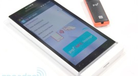 USB disk + NFC + smartphone = zabezpečená data