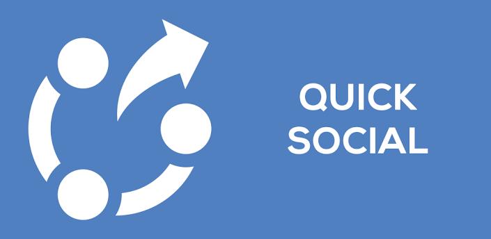 Quick Social – Hromadné sdílení příspěvků přímo z notifikační lišty [Android]
