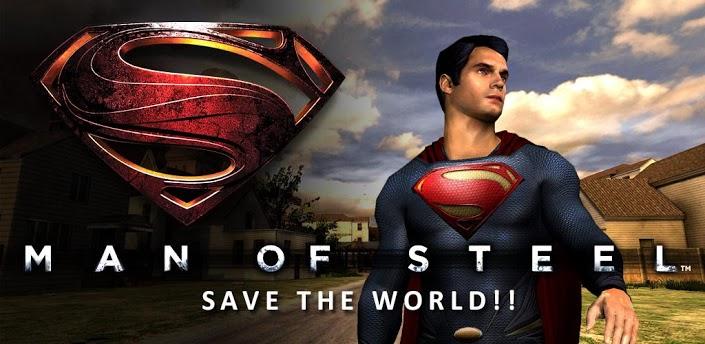 Vyšla oficiální hra Man of Steel pro Android a iOS
